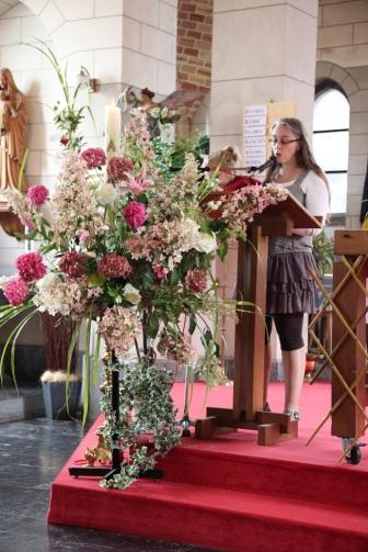 Isabelle proclame le psaume 62