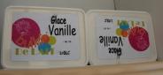 Les délicieuses glaces de la Bulle de lait, le dessert proposé par le SI