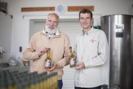 Jean-Paul Frisée (SI) et Nicolas Klingler (Vins et Elixirs de Franchimont)