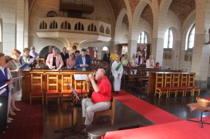 Saint-Fiacre 2017 - Célébration à l'église