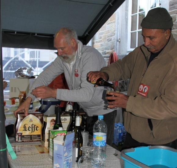 Jean-Paul et José au bar
